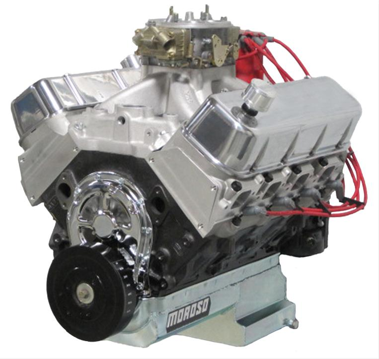 BluePrint Engines Pro Series Chevy 572 C I D  745 HP Dressed Long Block  Crate Engines PS5720CTC