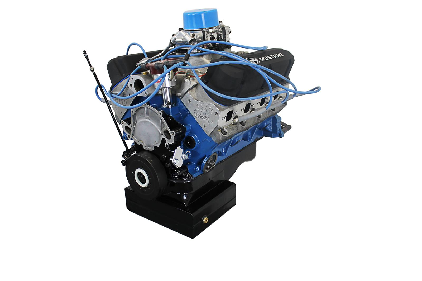 Blueprint engines pro series 632 ford 302 crate engine ebay blue ford compatible crate engines blueprint malvernweather Image collections