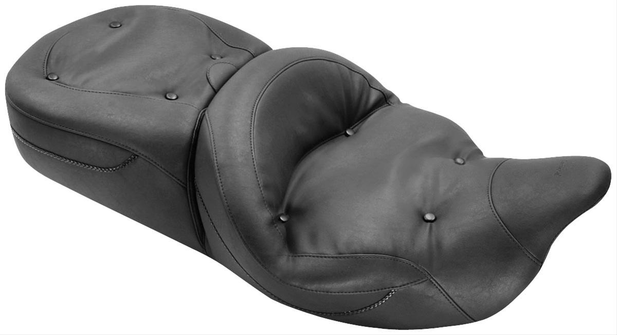 Mustang Motorcycle Seats One-Piece Wide Regal Touring Seat