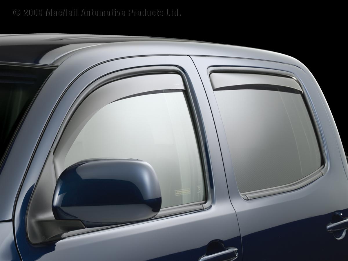 Weathertech Window Visors >> WeatherTech Side Window Deflectors 82389 - Free Shipping ...