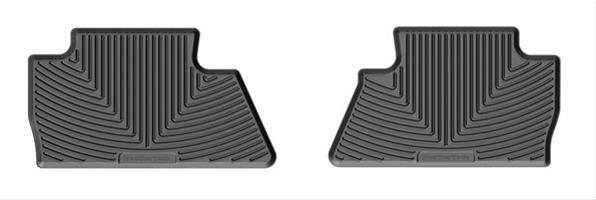 WeatherTech W311 Rubber Mat Black Rear