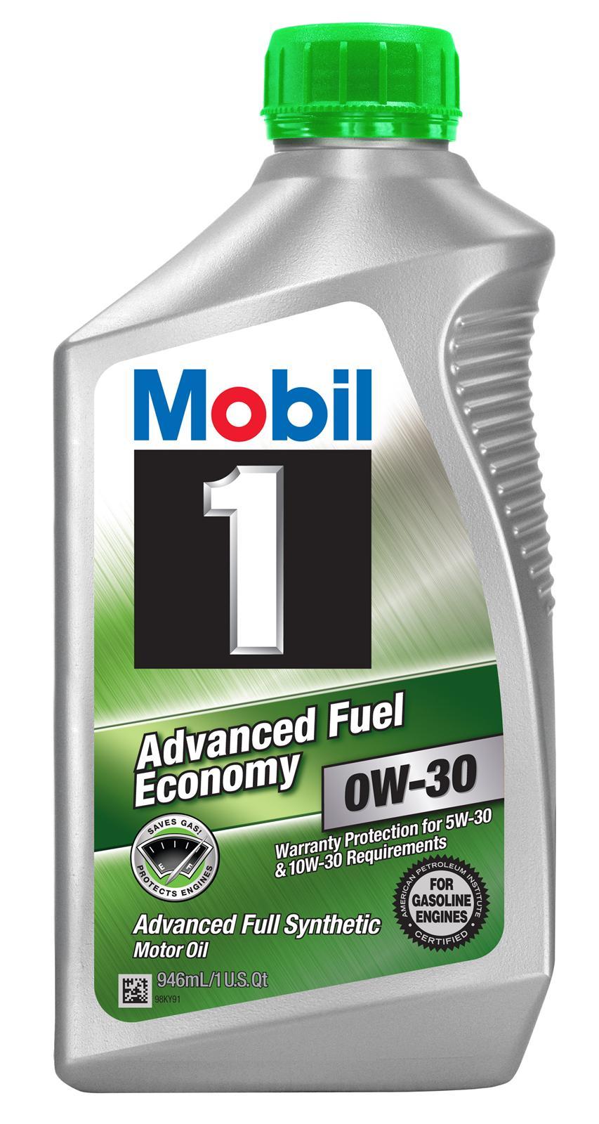 Mobil 1 Motor Oil Grade 1 Synthetic 0w30 1 Qt Each Ebay