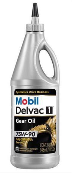Mobil Delvac Synthetic Gear Oil 122044