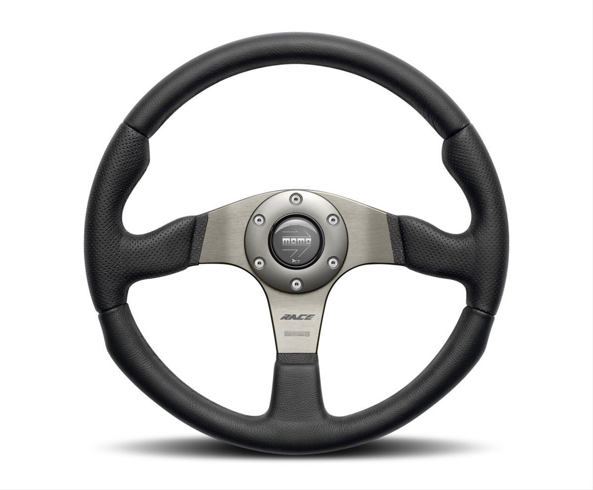 Momo Rce35bk1b Momo Racing Race Series Steering Wheels Summit Racing