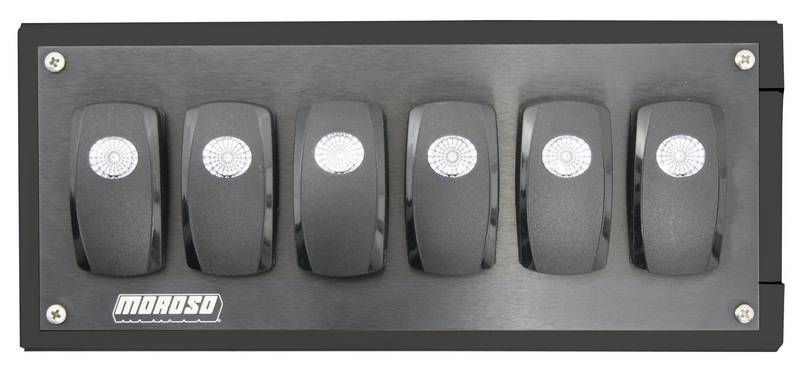 Moroso MCU Rocker Switch Panels 76025 - Free Shipping on Orders Over $99 at  Summit Racing