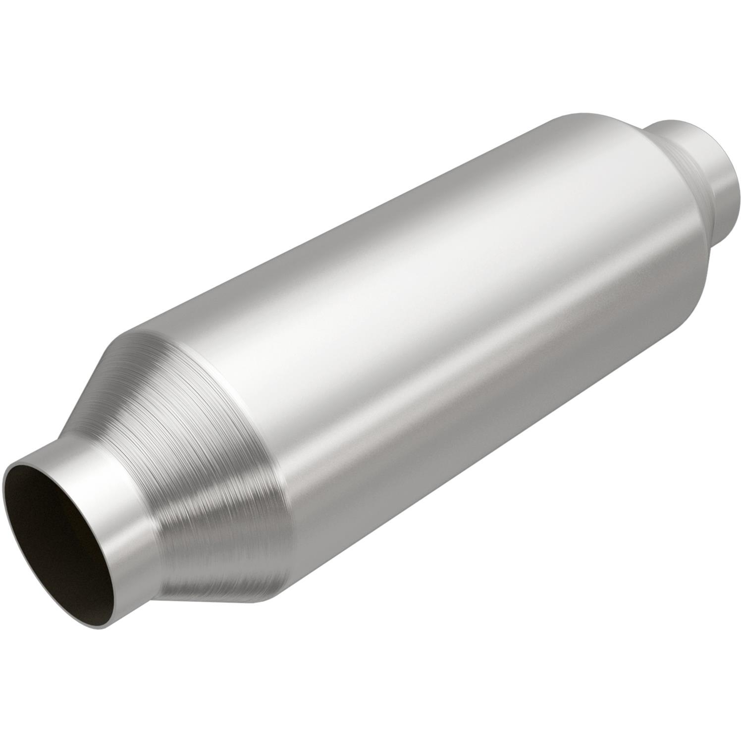 MagnaFlow 53955 Large Stainless Steel Universal Fit Catalytic Converter