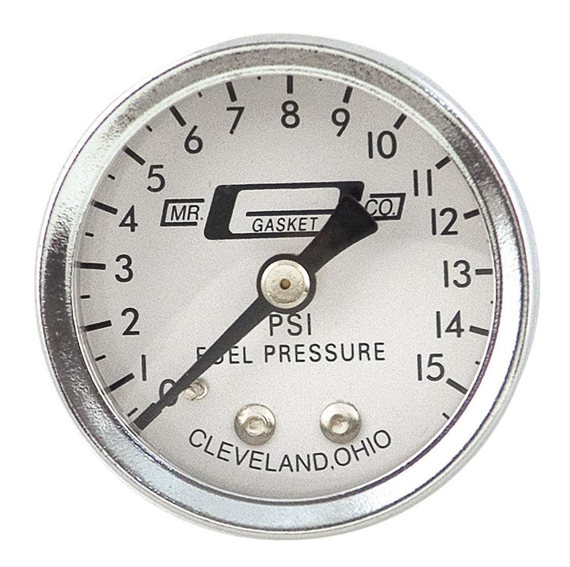 Moroso 65370 Fuel Pressure Gauge