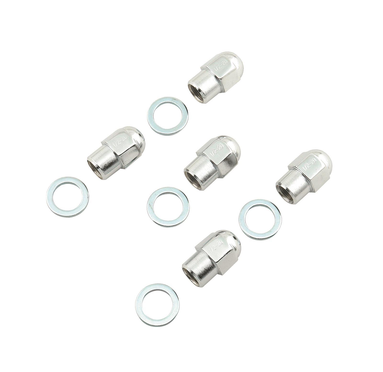 Mr Gasket 1741 Chrome Plated Lug Nut