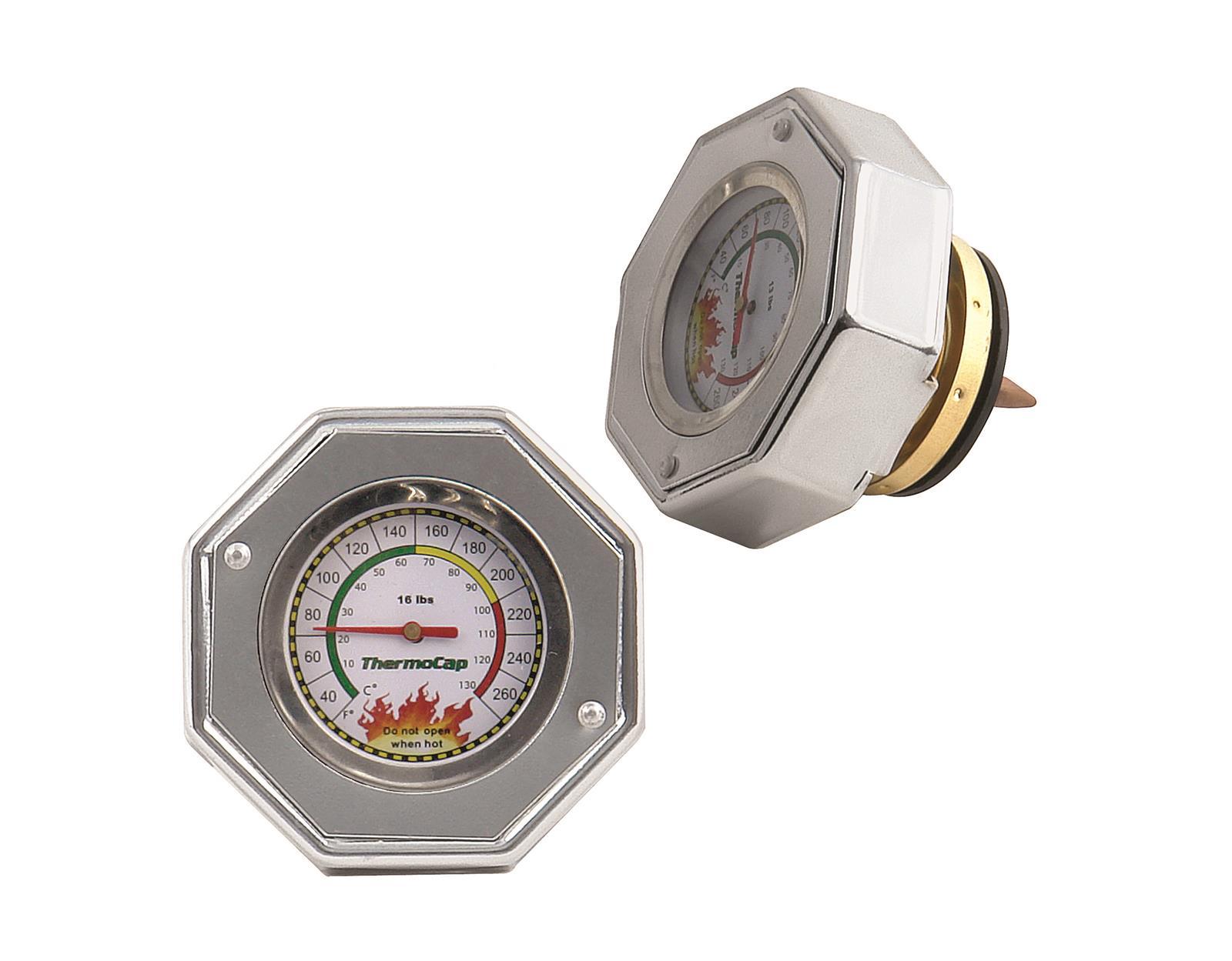 Mr Gasket 2476BK Domestic Thermocap