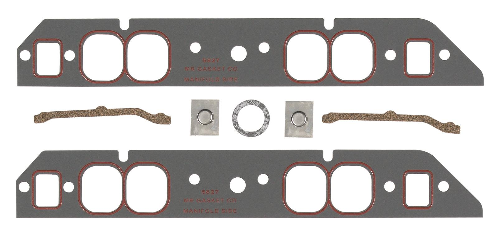 Mr. Gasket Ultra-Seal Intake Manifold Gaskets 5827 - Free Shipping on  Orders Over $99 at Summit Racing