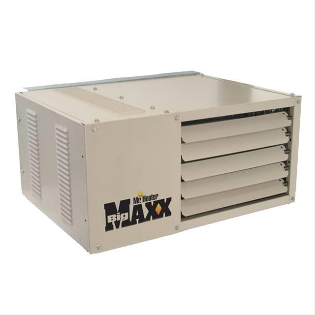 mr heater big maxx garage shop unit heaters f260550