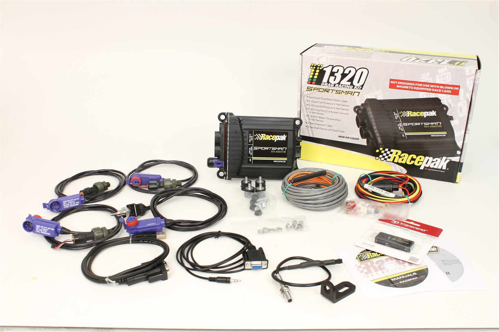 msd racepak sportsman data logger kits 11600 free shipping on orders 99 at summit racing
