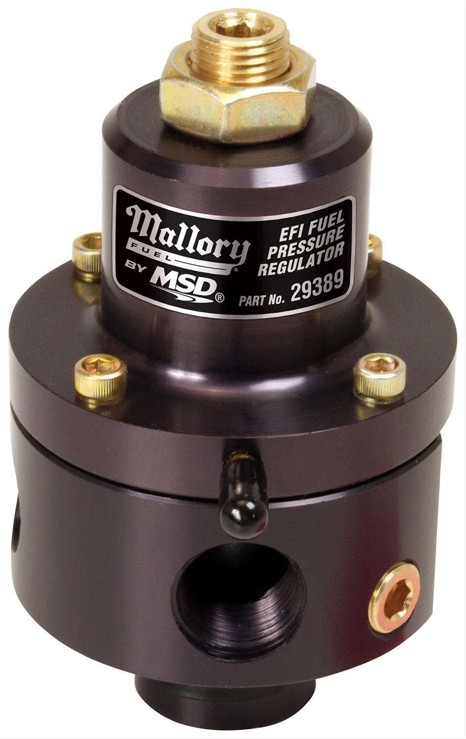 Mallory Universal Fuel Pressure Regulators for Fuel Injection 29389 - Free  Shipping on Orders Over $49 at Summit Racing