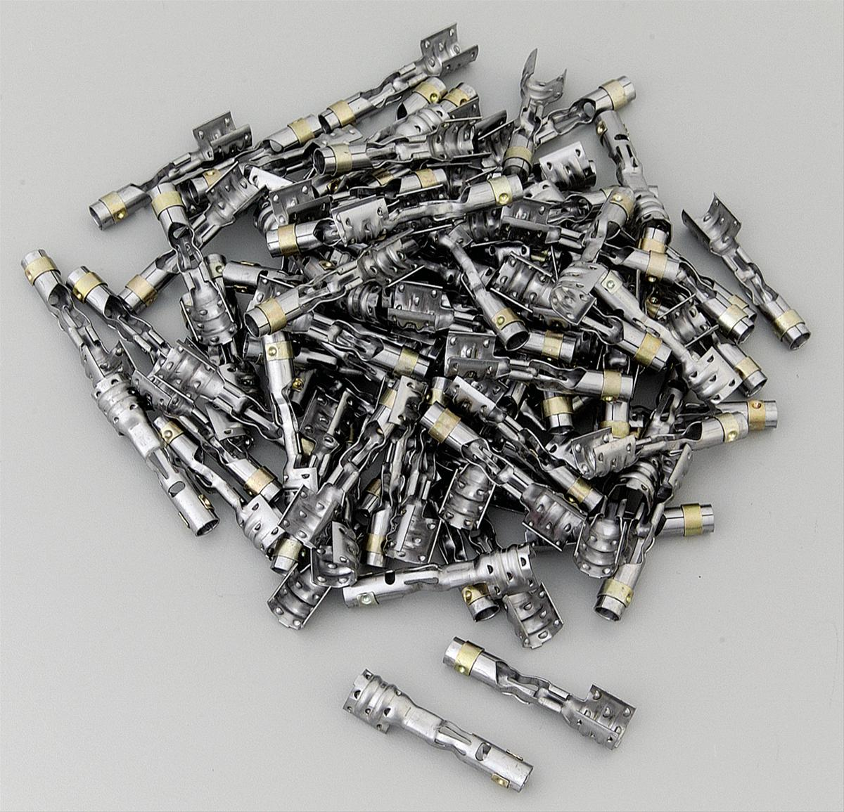 Gray Coil Wire : Msd spark plug terminals gray multi angle set of