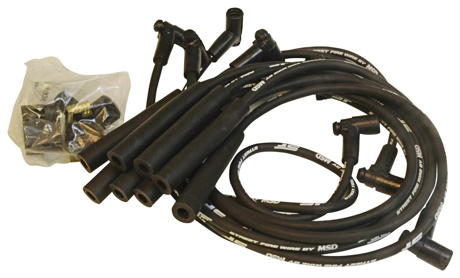 MSD Street Fire Spark Plug Wire Sets 5567 - Free Shipping on Orders ...