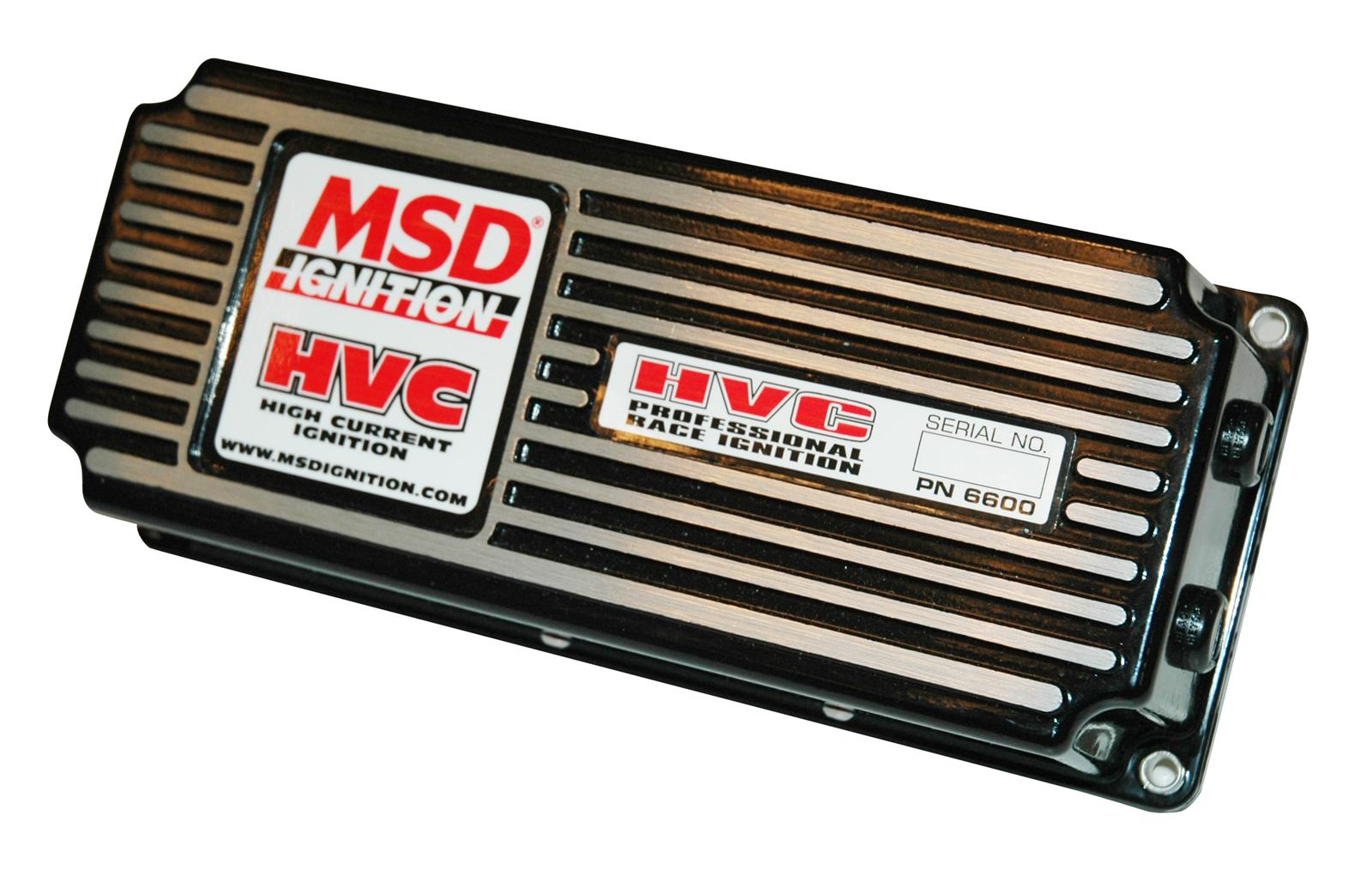 MSD 6 HVC CD Ignitions 6600 - Free Shipping on Orders Over $49 at Summit  Racing
