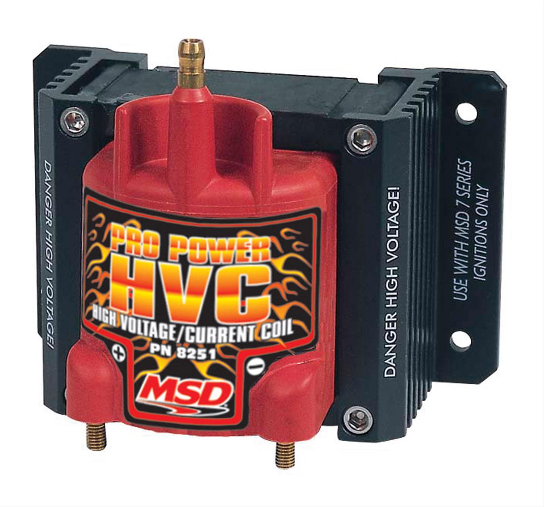 MSD Pro Power HVC Coils 8251
