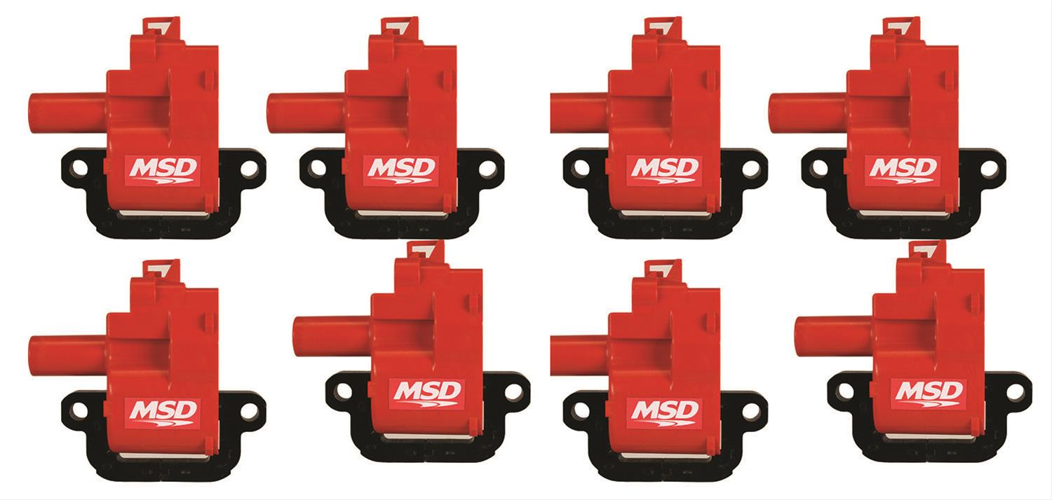Msd Ignition Coils Gm 98 6  8