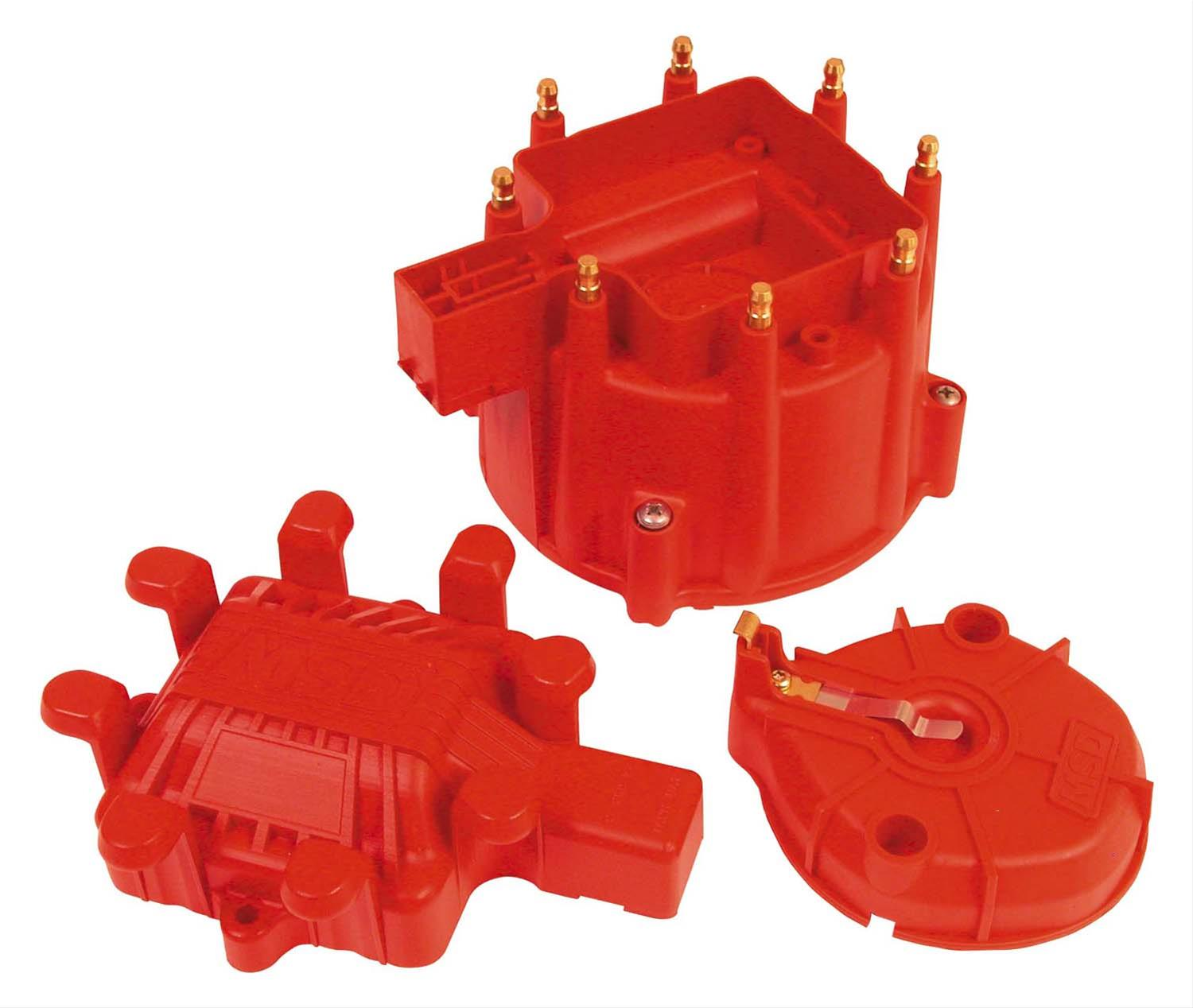 MSD Ignition 8416 GM Chevy Stock Replacement HEI Distributor Cap and Rotor