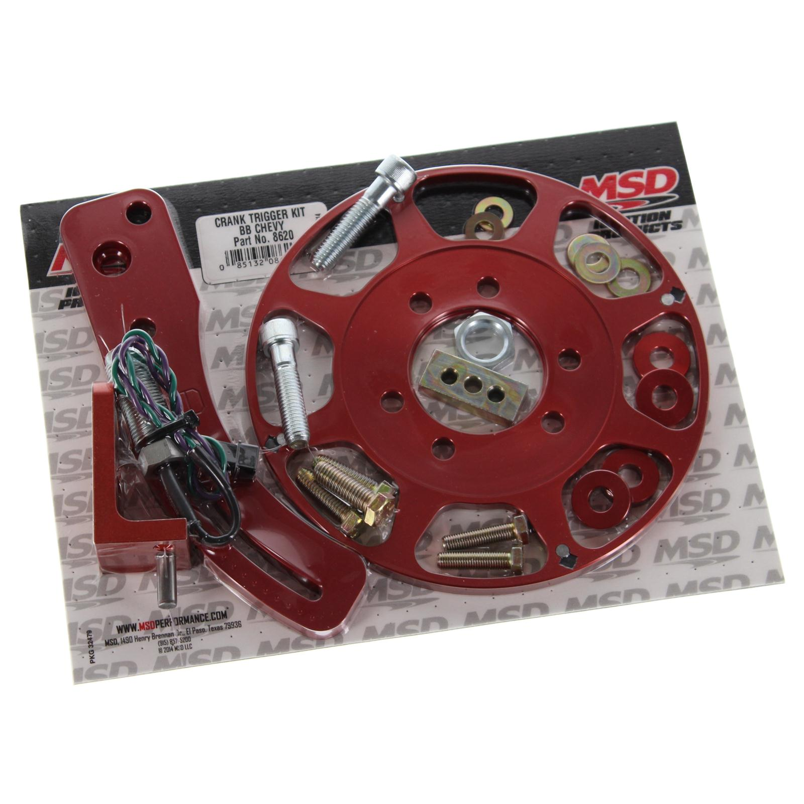 Msd Xl on Big Block Chevy Crank Trigger Kit