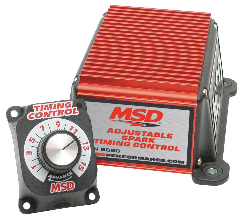 Msd Adjustable Timing Controls 8680