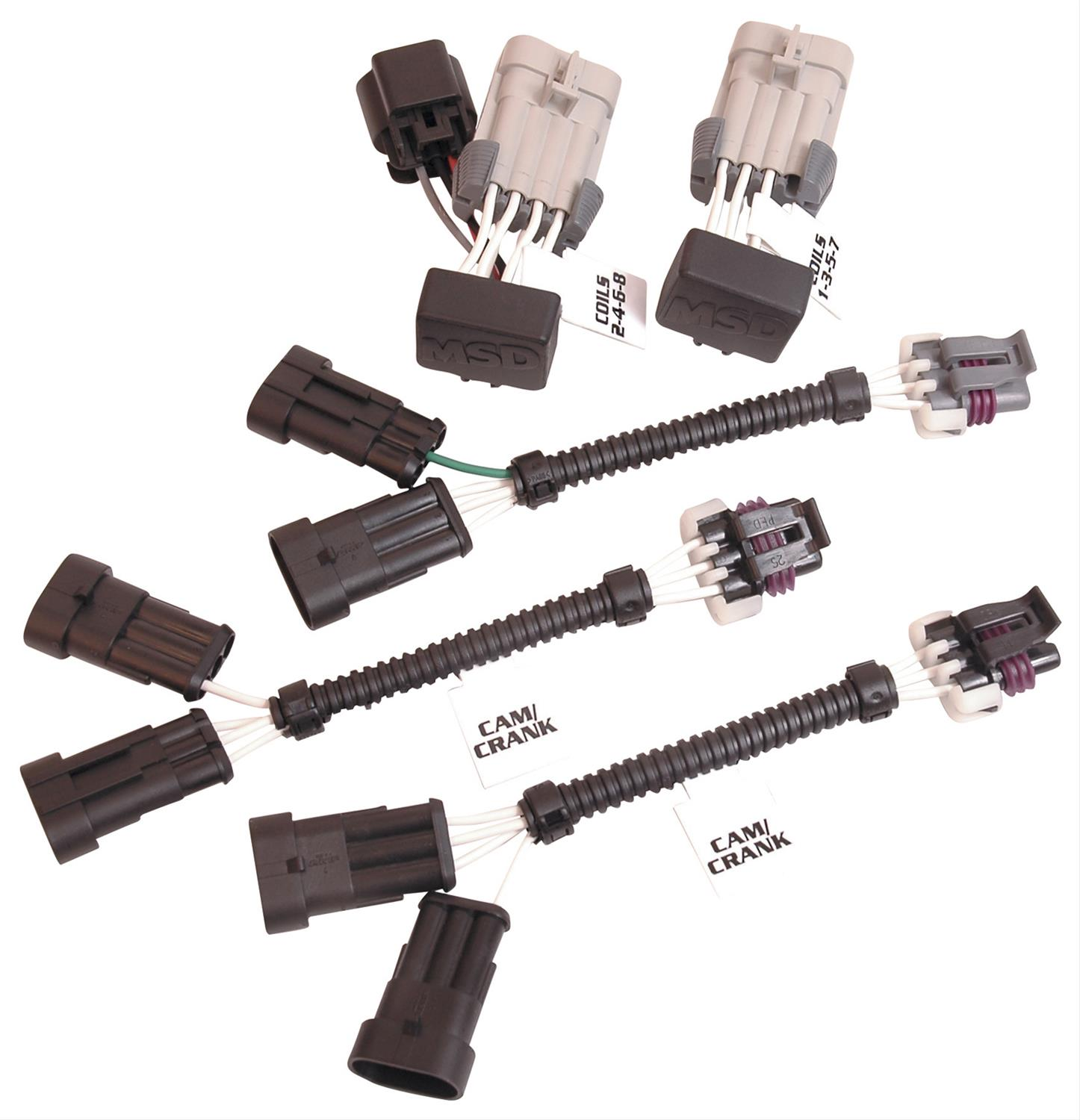 MSD 6LS Series Ignition Wiring Harnesses 8886Summit Racing