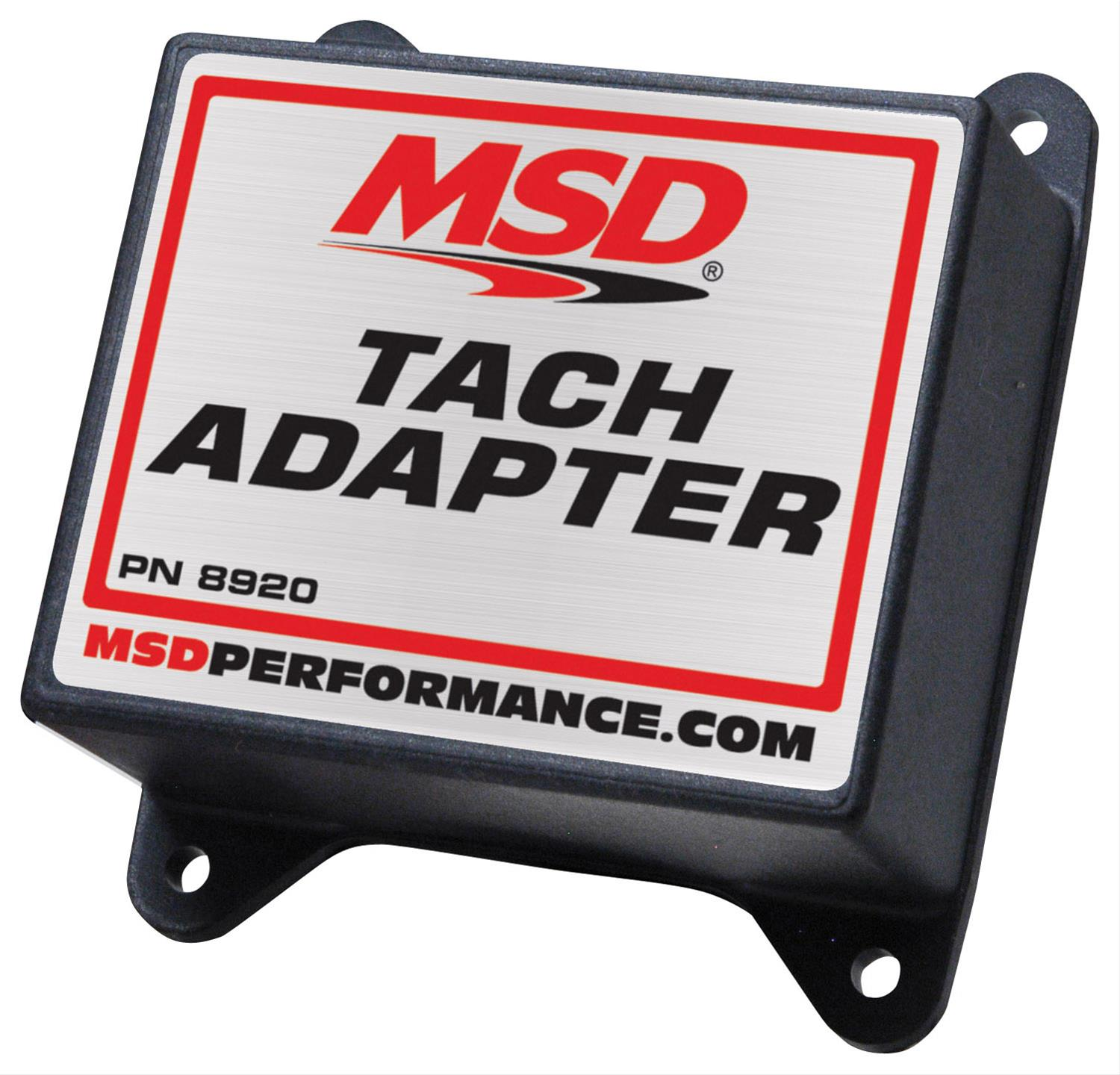 Msd Magnetic Pickup Tach Adapters 8920 Free Shipping On Orders 1948 Studebaker Wiring Diagram Over 49 At Summit Racing