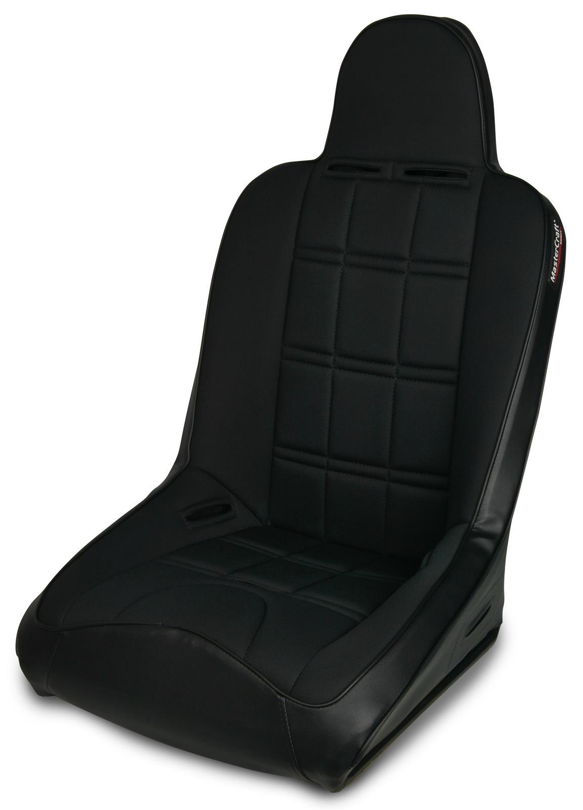 Black//Black MasterCraft 530004 Nomad Seat with Fixed Headrest