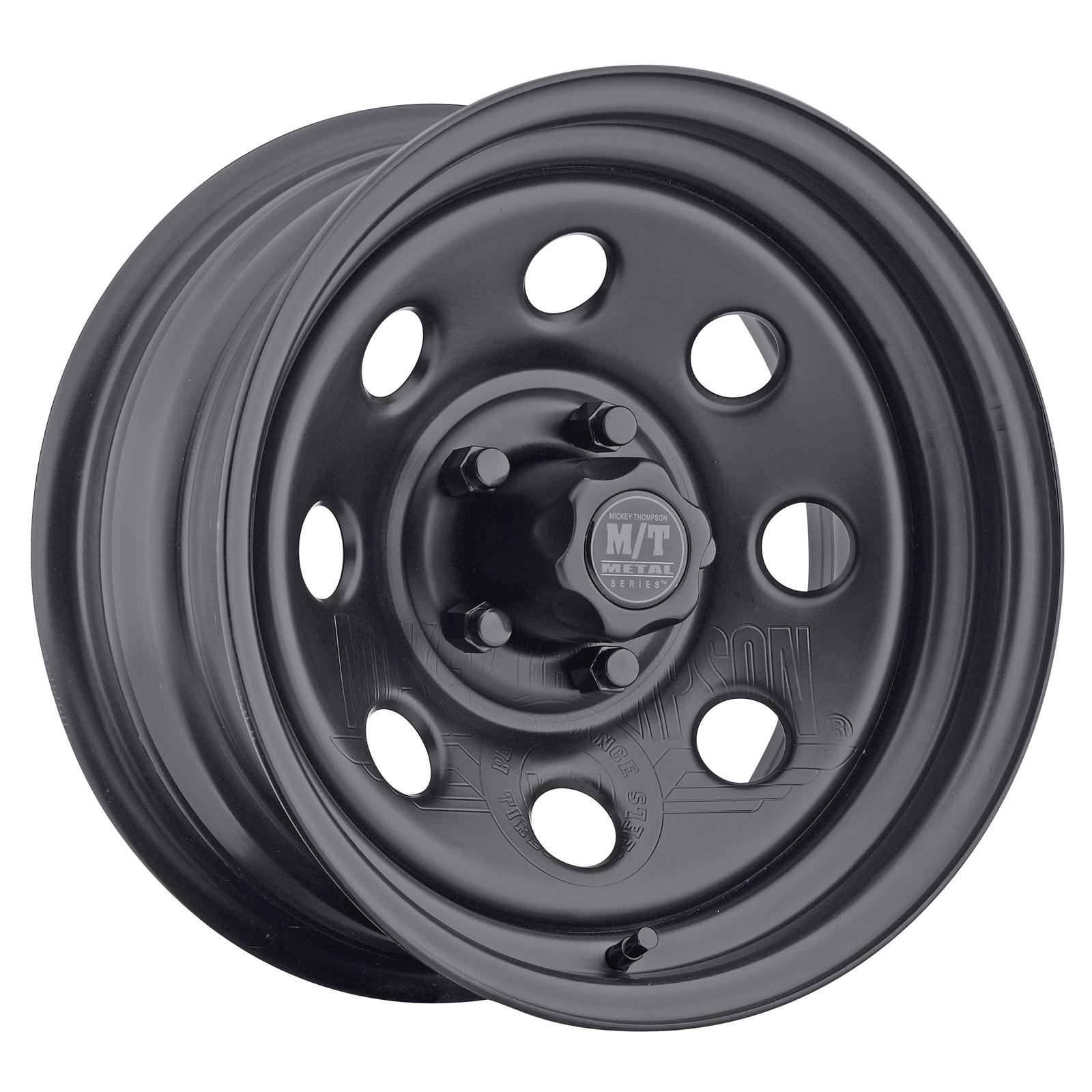 Mickey Thompson Metal Mt 28 Series Black Wheels 90000001684 Free 1955 Ford F100 With Thompsons Shipping On Orders Over 49 At Summit Racing