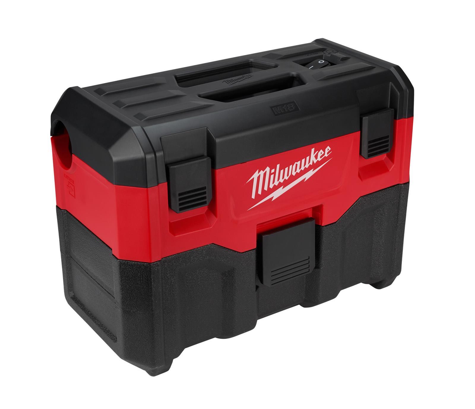 Milwaukee M18 Cordless 2-Gallon Wet/Dry Vacuum Cleaners