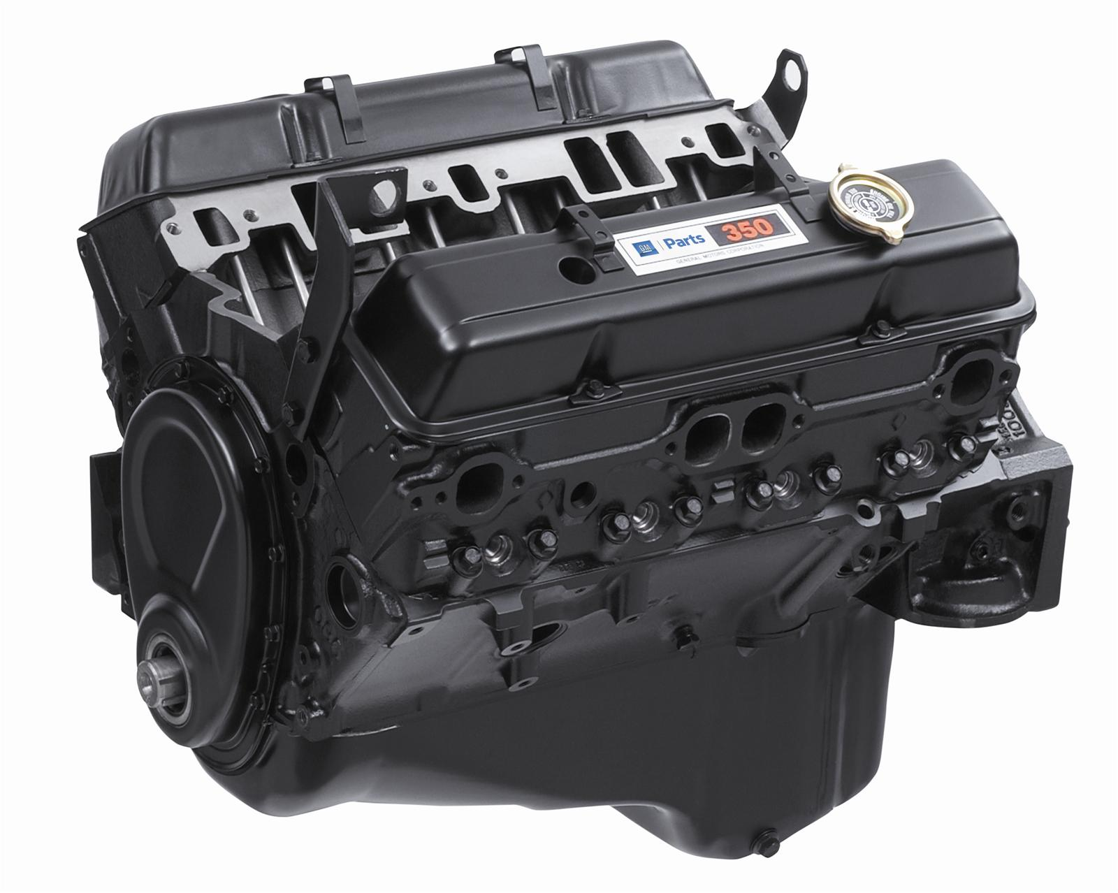 Chevrolet Performance 350 C.I.D. Base Engine emblies 12681429 ...