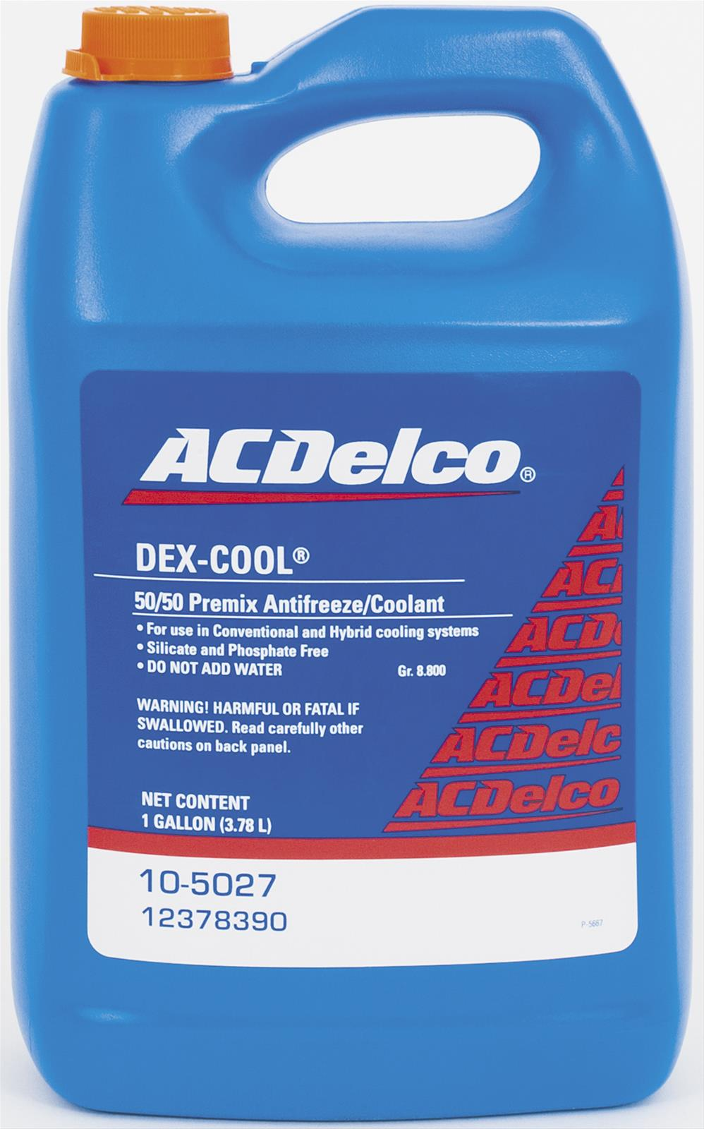 Chevrolet Performance Dexcool Antifreeze 12378390 Free Shipping On Oldsmobile Engine Coolant Orders Over 99 At Summit Racing