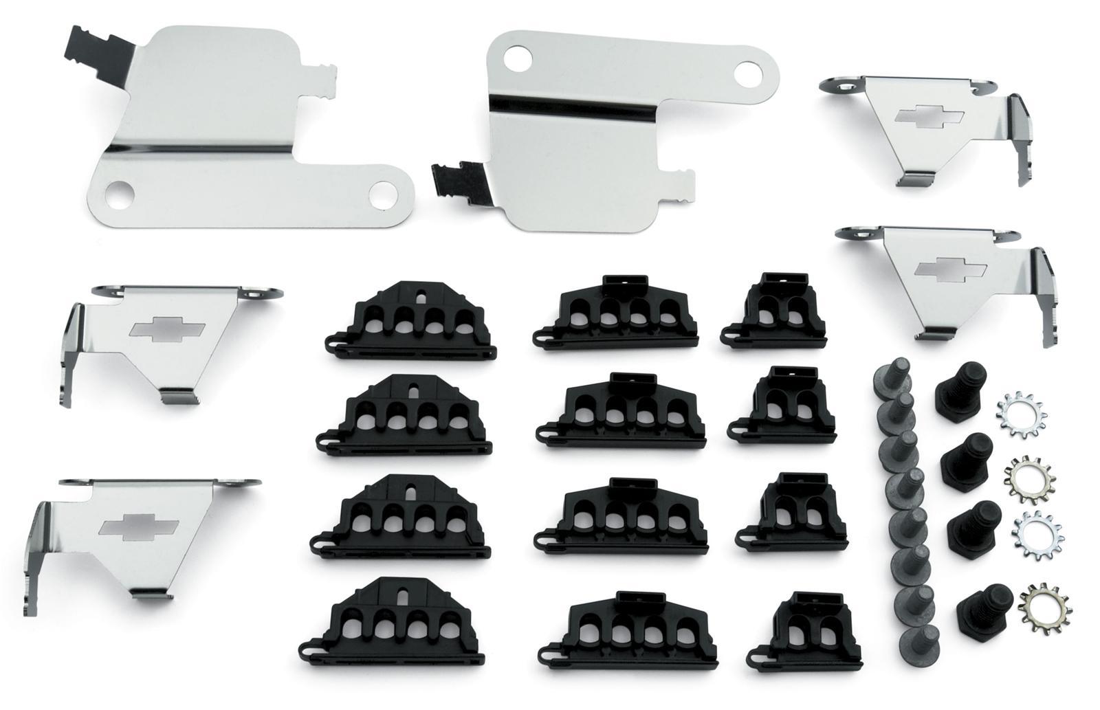 Chevrolet Performance Bowtie Emblem Spark Plug Wire Looms 12496806 ...