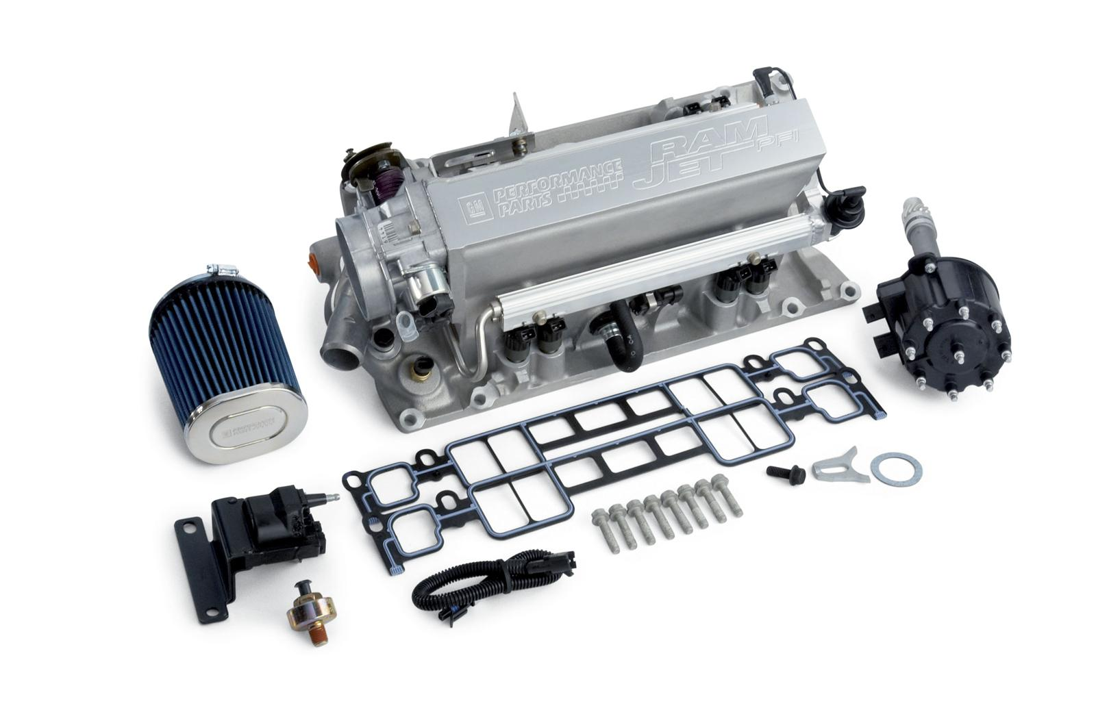 Chevrolet Performance Ram Jet Vortec Fuel Injection Kits 12498032 - Free  Shipping on Orders Over $49 at Summit Racing