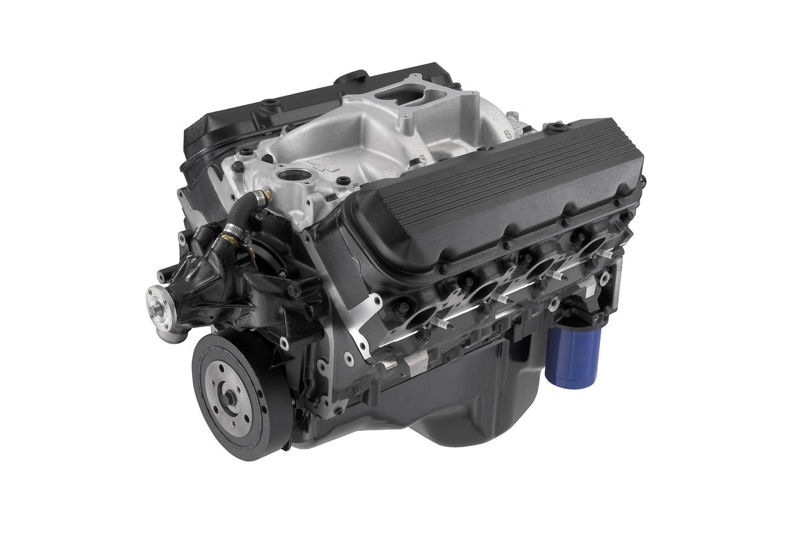 Chevrolet Performance 502 C I D  HO 461 HP Long Block Crate Engines 12568778