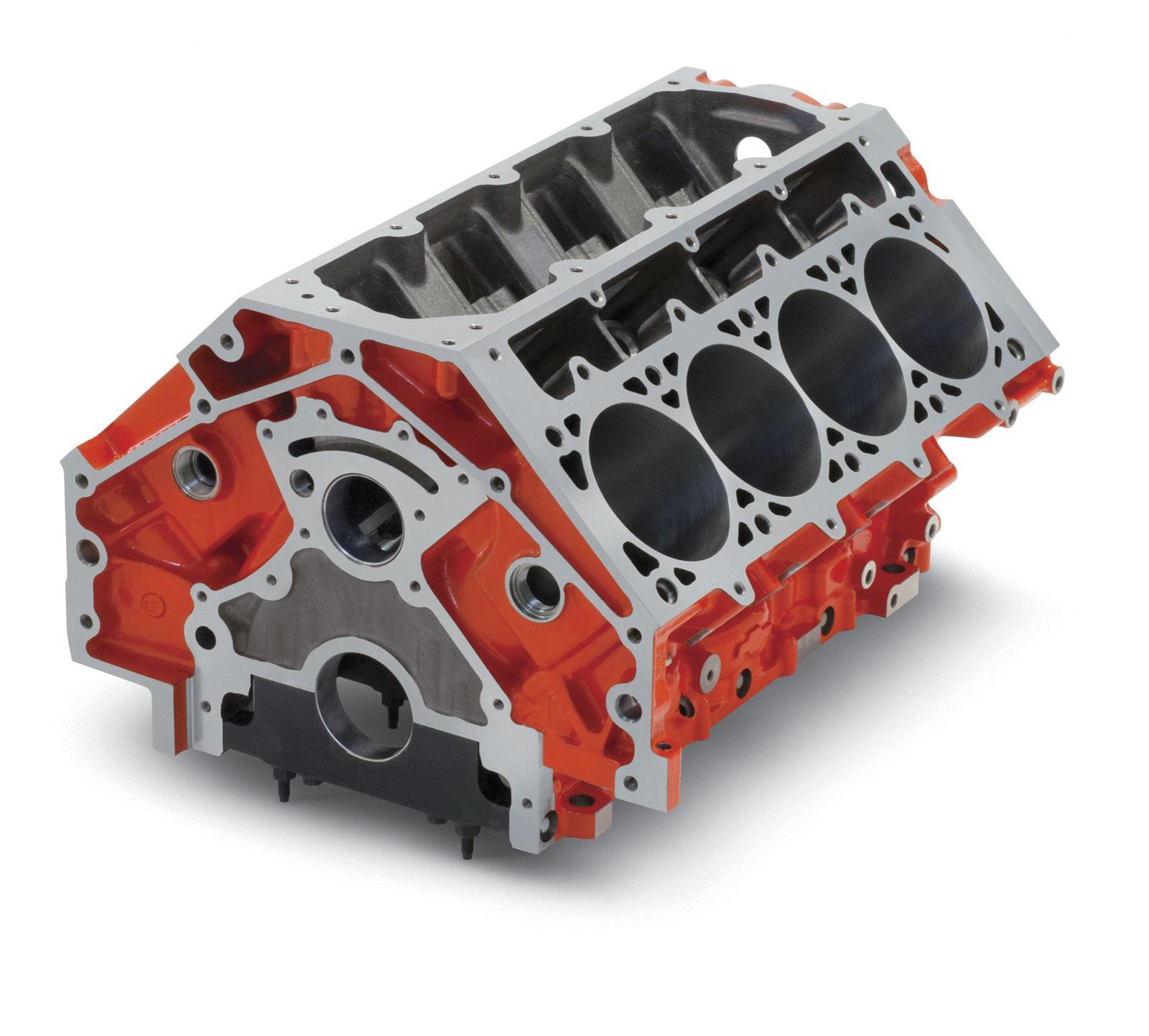 Chevrolet Performance Lsx Bowtie Engine Block 19260093 Ebay