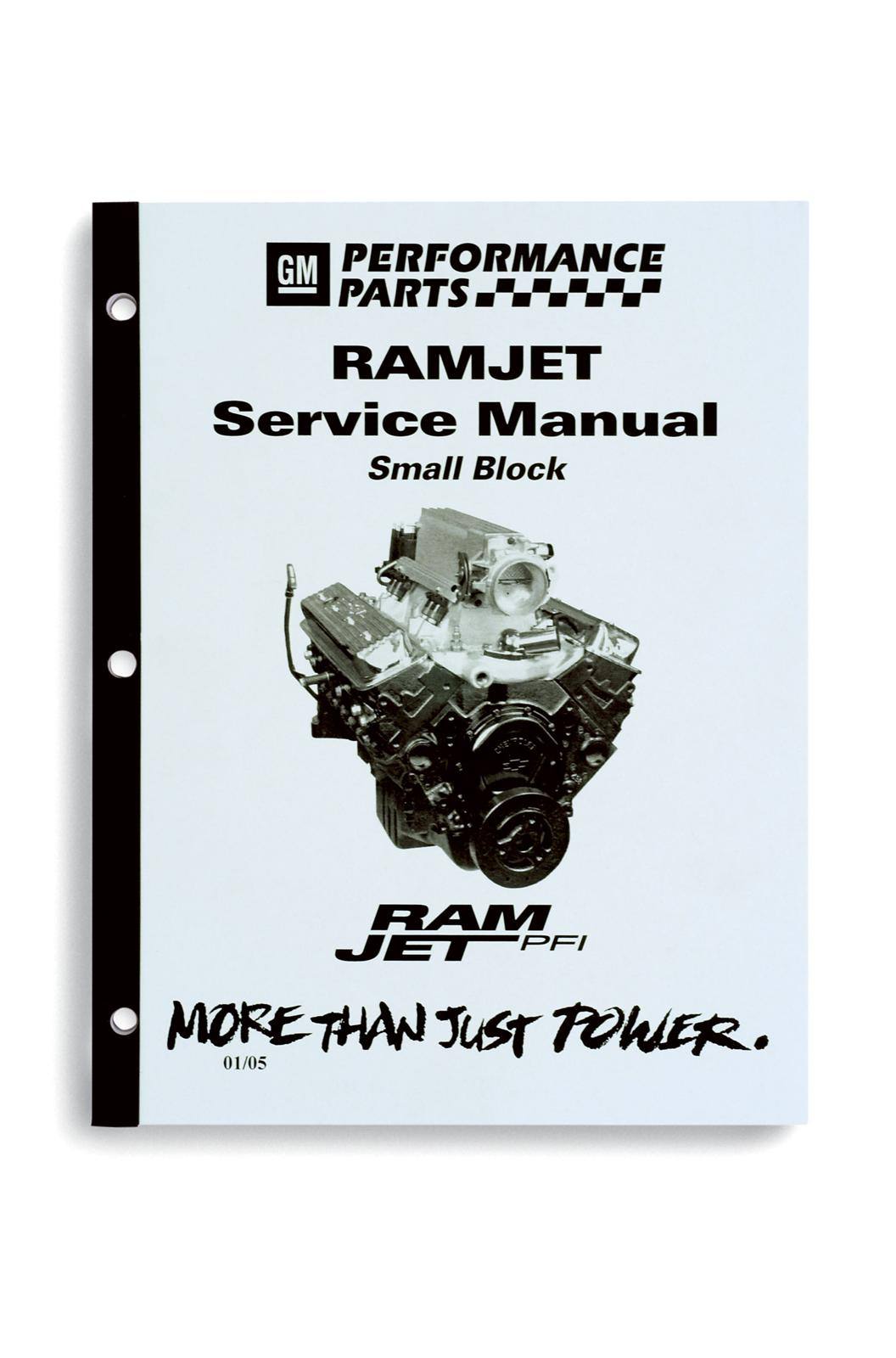 Chevrolet Performance Ram Jet 350 Engine Service Manuals 88962723 - Free  Shipping on Orders Over $99 at Summit Racing