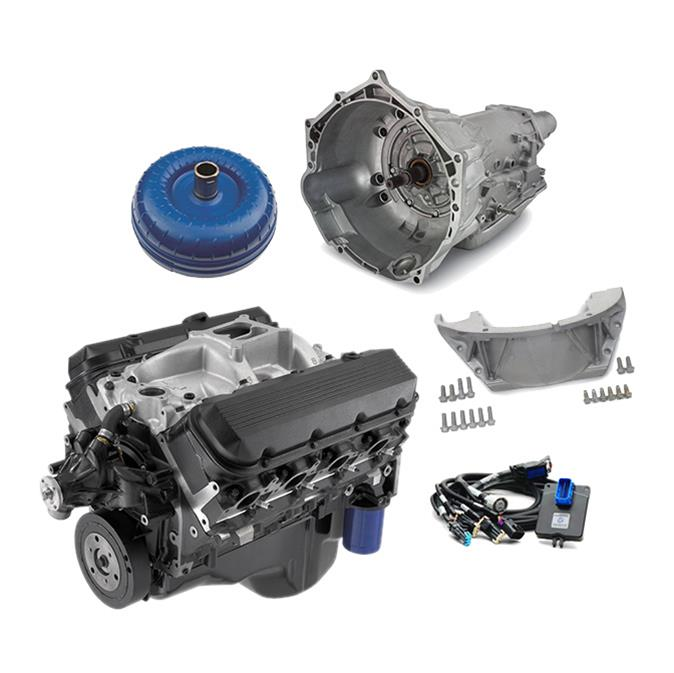 Chevrolet Performance Connect and Cruise 502 HO Engine and Transmission  Packages S00054