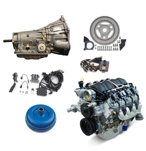 Chevrolet Performance Connect and Cruise LS3 Engine and Transmission  Packages S00066