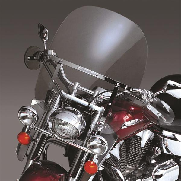 N21425 National Cycle Clear~ SwitchBlade Chopped Windshield