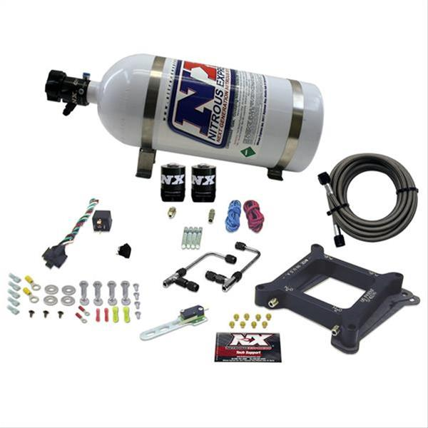 Nitrous Express Gemini Twin Pro Power Plate Nitrous Systems 60545-10