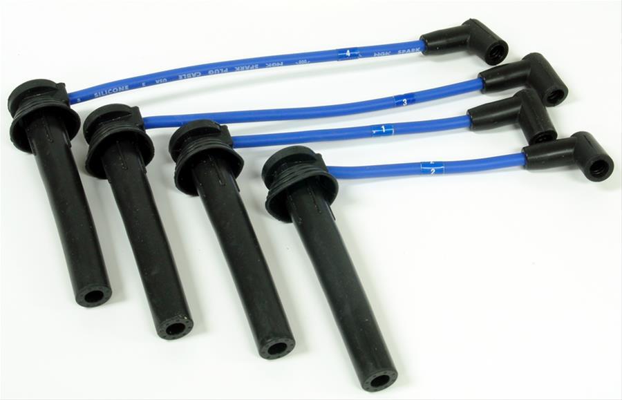 NGK 54054 EUX066 Spark Plug Wire Set