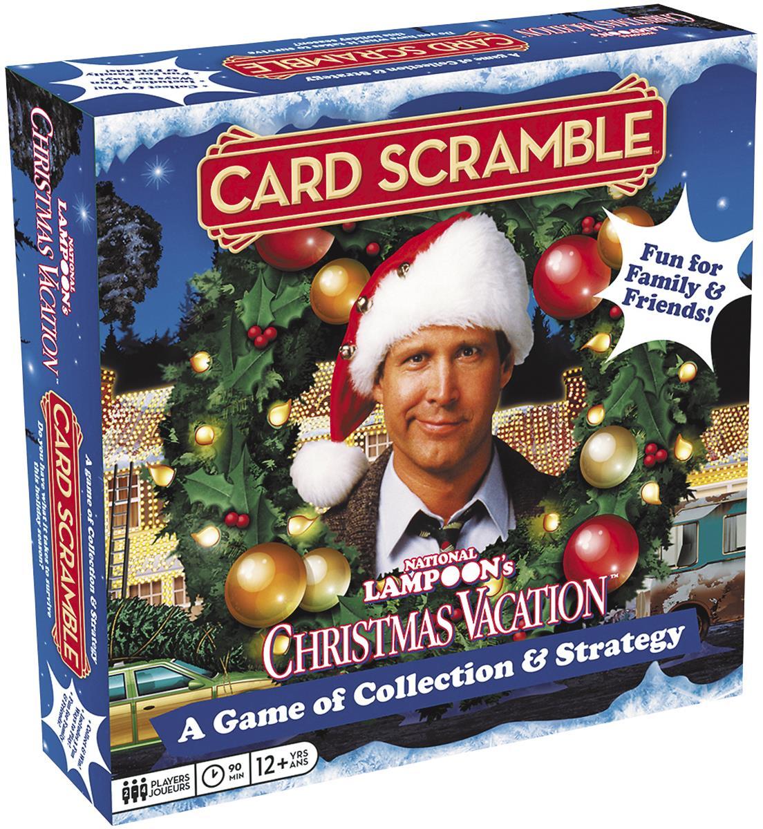 National Lampoon\'s Christmas Vacation Card Scramble Board Game 97502 ...