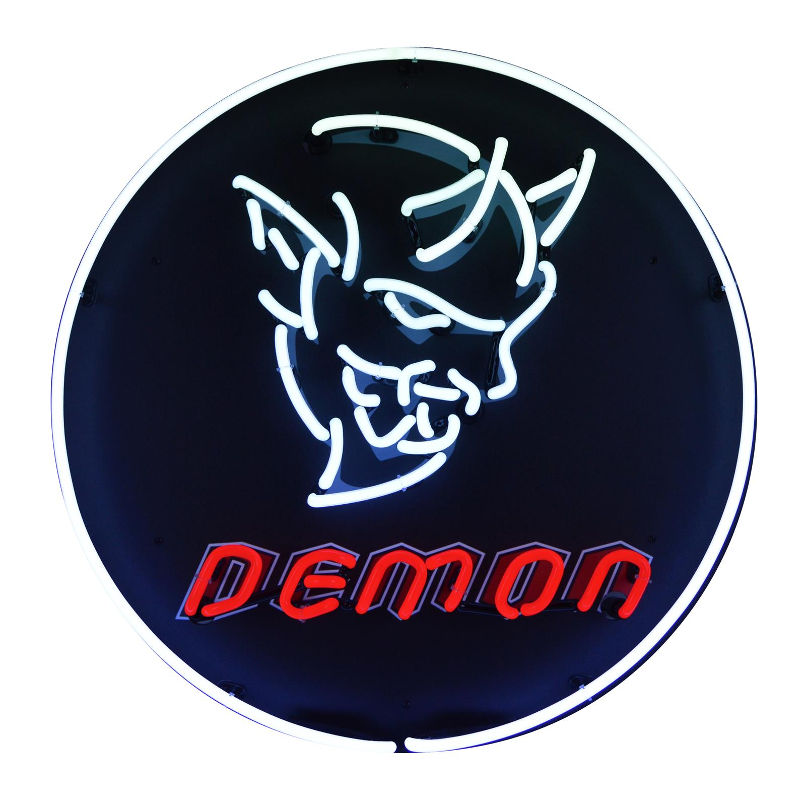 Summit Gifts 5demon Dodge Challenger Srt Demon Neon Sign Summit Racing