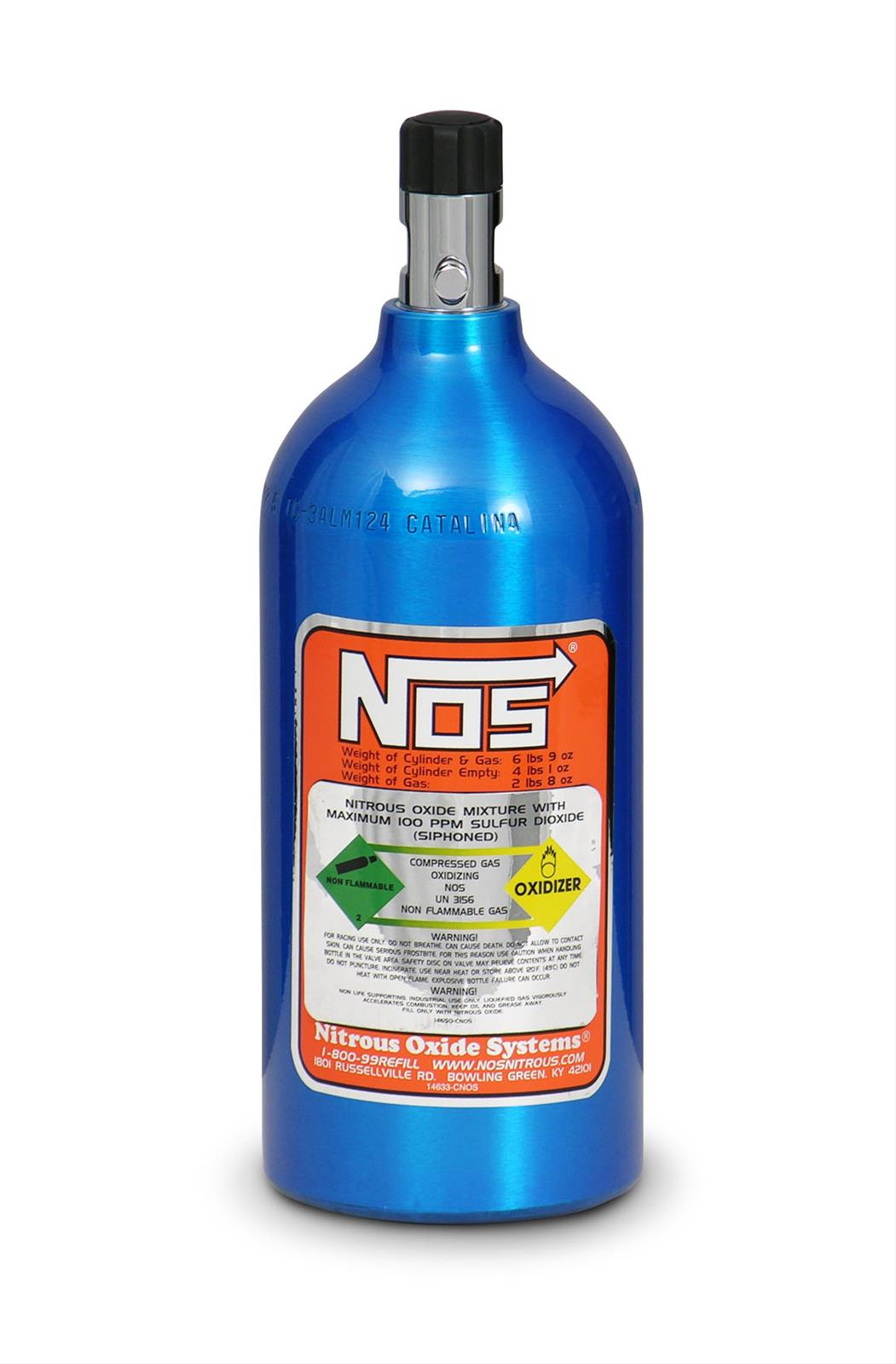 nos 14720nos nitrous bottle 2 5 lbs aluminum blue each ebay. Black Bedroom Furniture Sets. Home Design Ideas
