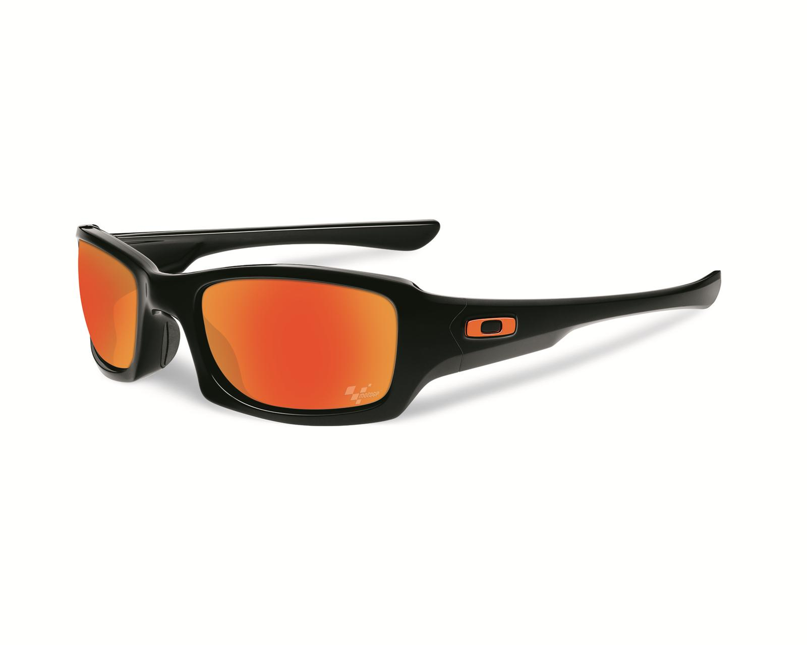 8ef24bd6df Oakley MotoGP Fives Squared Sunglasses OO9238-01 - Free Shipping on Orders  Over  99 at Summit Racing