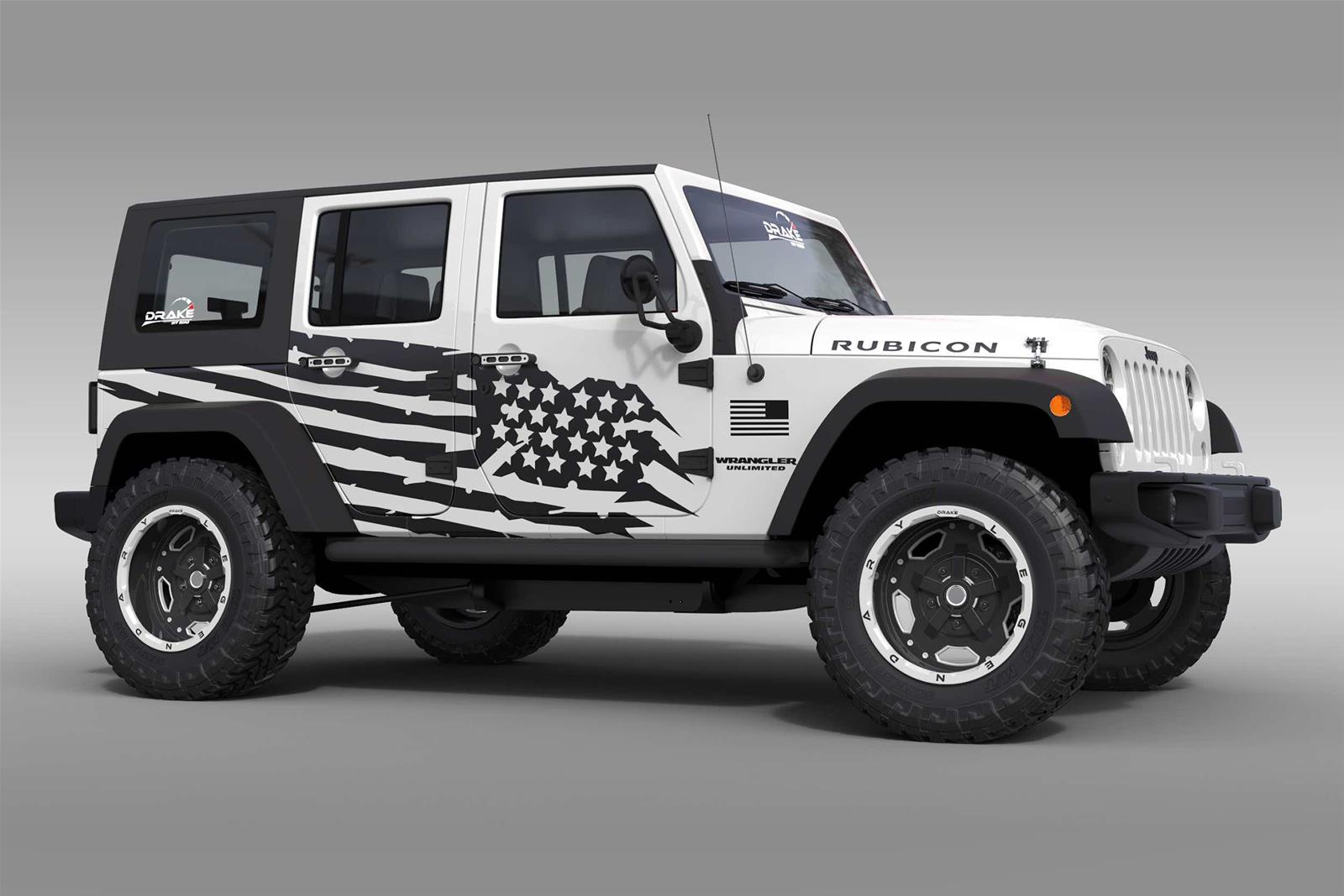 OG Innovations Jeep Vehicle Graphics OG-BAT-JP - Free Shipping on ...