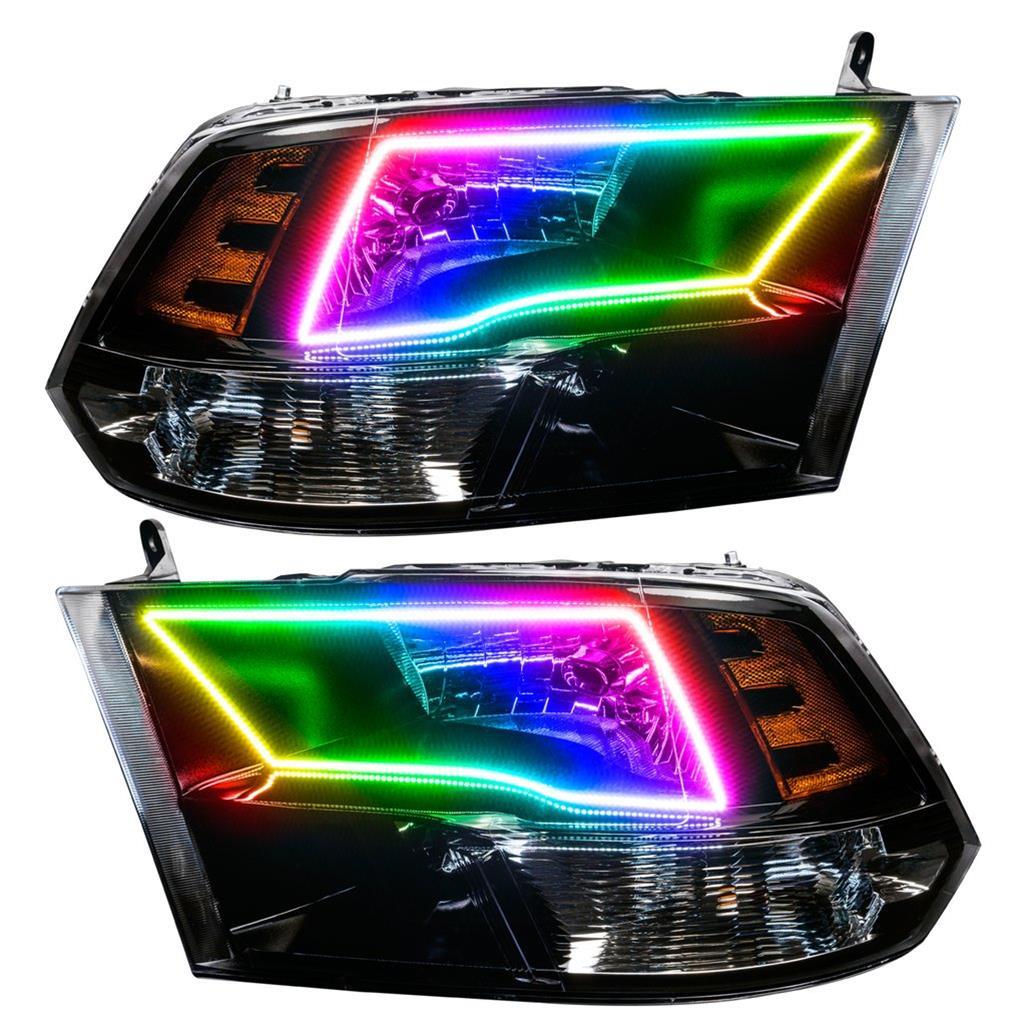 Oracle Colorshift Halo Headlights 7121 504