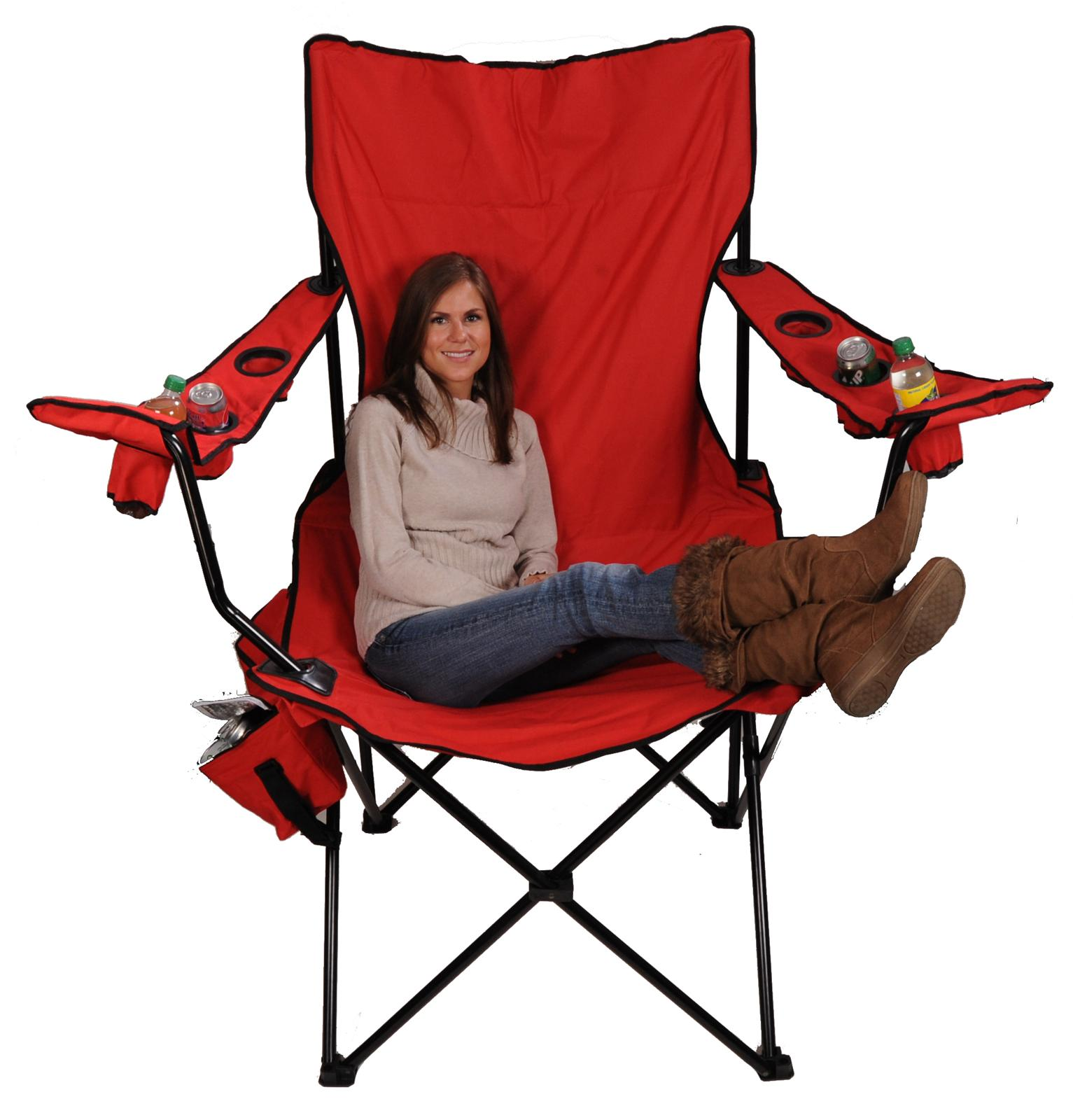 Red Kingpin Folding Chair 7002 Free Shipping on Orders Over $99
