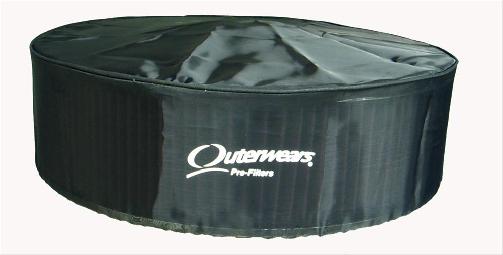 Outerwears Air Cleaner Pre-Filter with Top Polyester Black 14u0026quot; Dia 3u0026quot; Height EA | eBay